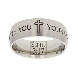 Zephaniah 3:17 Scripture Ring scripture ring, scripture verse, verse ring, zephaniah 3:17, zephaniah 3: 17, zeph. 3:17, zeph. 3: 17, your god rejoices over you & is with you, your god rejoices over you and is with you, your god, god