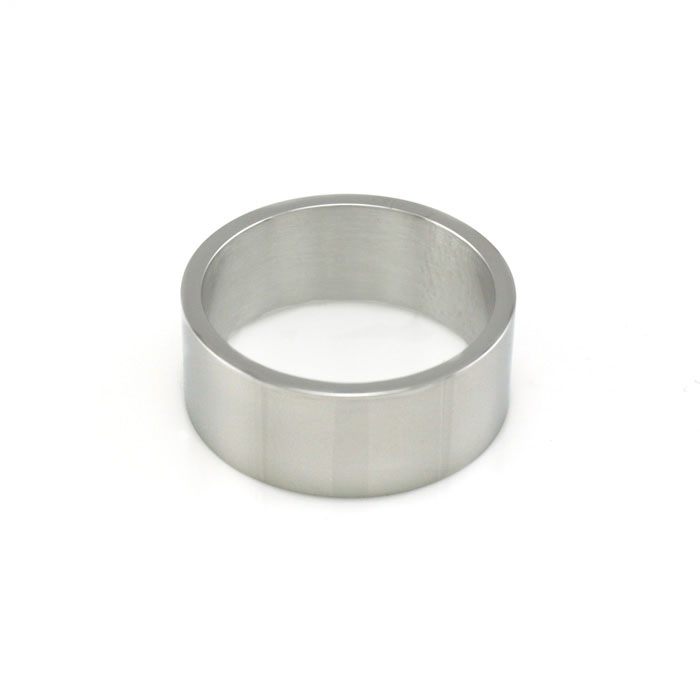 Flat Stainless Steel Wide Ring - LDP-RNG15