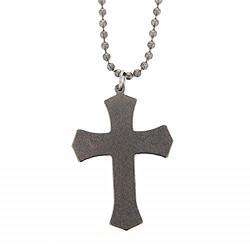 Warrior Cross Necklace