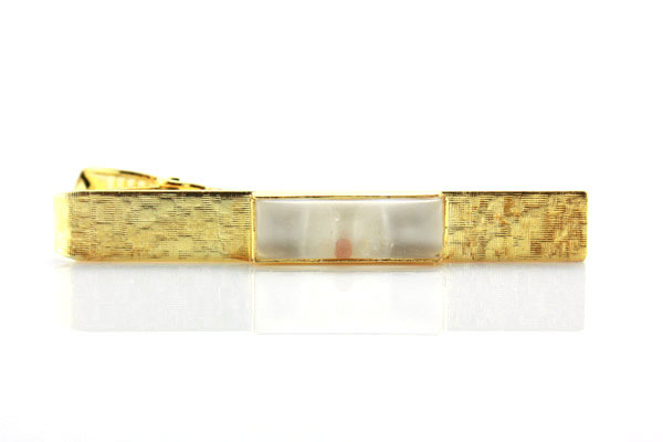 Gold Mustard Seed Tie Clip - CF-P79970