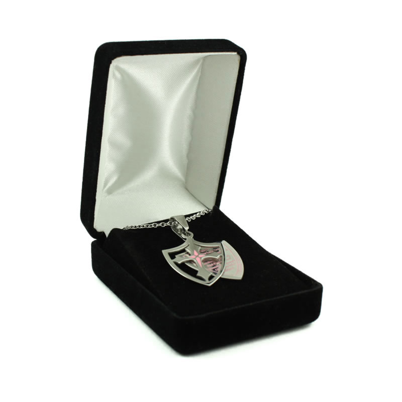Black Necklace Box - BB-DBN012