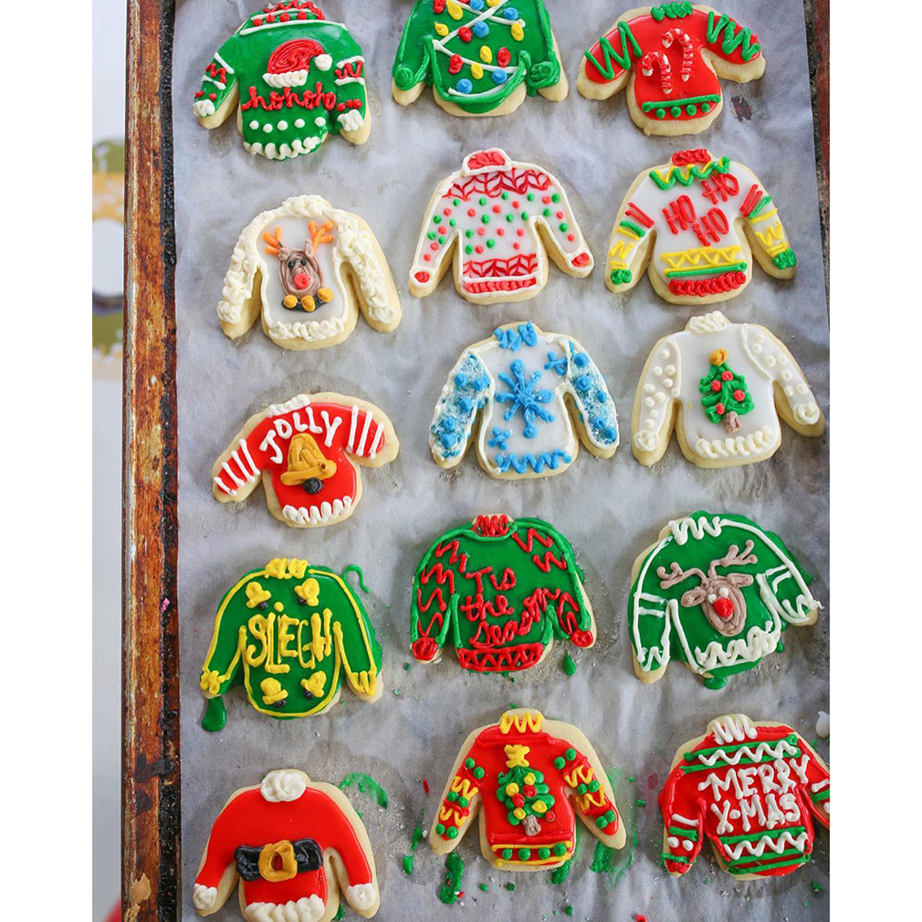 Ugly Sweater Christmas Sugar Cookies In Baked Goods Ldsbookstore