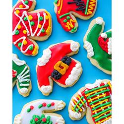Ugly Sweater Christmas Sugar Cookies