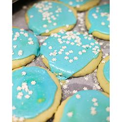 Snowflake Sugar Cookies christmas sugar cookies, mtc delivery, mtc baked goods