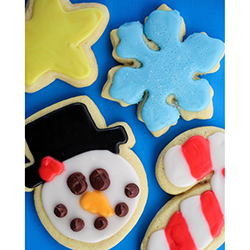 Christmas Sugar Cookies christmas sugar cookies, mtc delivery, mtc baked goods