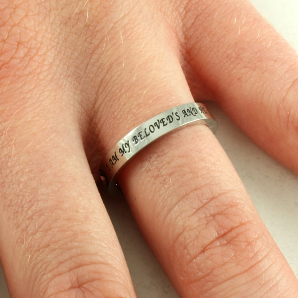 My Beloved Princess Cut Ring - ST-PC BELOVED