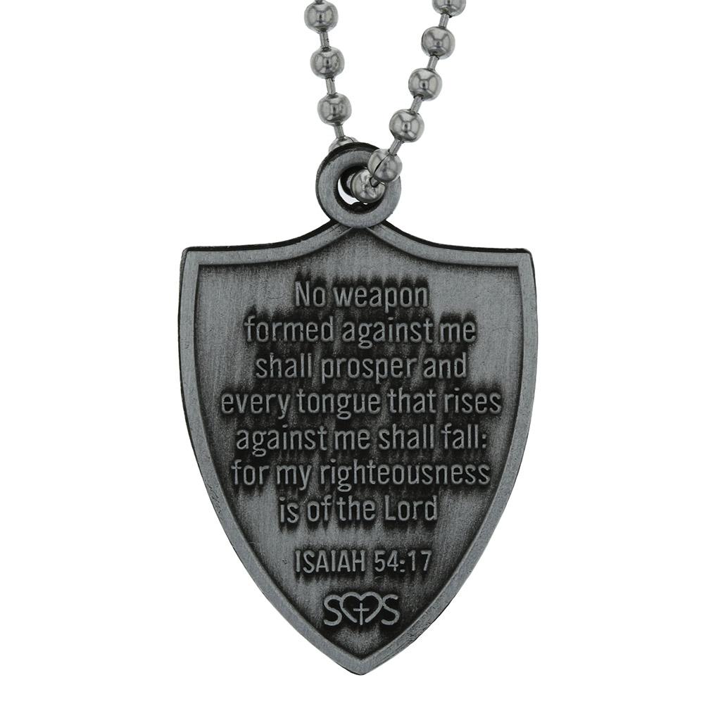 Isaiah 54:17 Shield - SOS-10208A