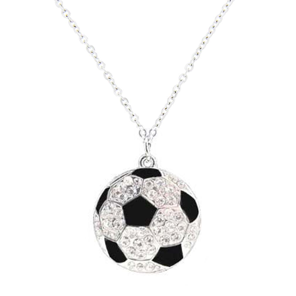 Soccer Pendant Necklace - SOS-20023