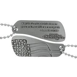 Genesis 31:49 Split Shields