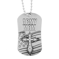 Army Mom Dog Tag - SOS-30206