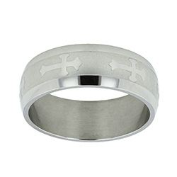 Orthodox Cross Ring - SR-335