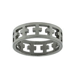 Cutout Cross Ring