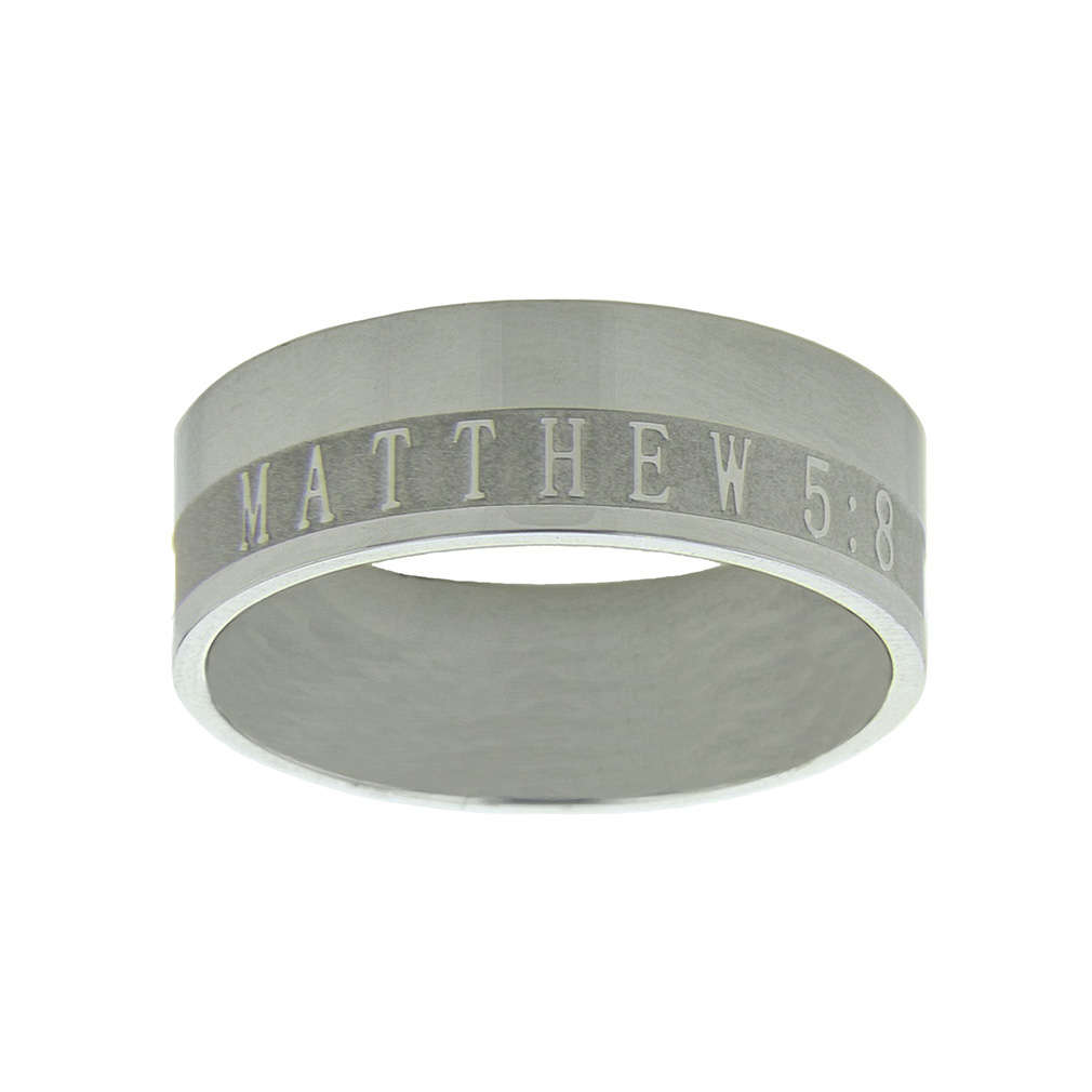 Men's Purity Ring Band - ST-M58