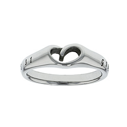 Girl of God Mini Heart Ring