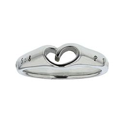 Purity Mini Heart Ring