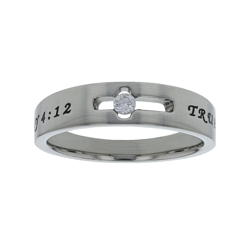 858b6a416ee9 True Love Waits Birthstone Solitaire Ring - April - ST-SOL-TL-BS ...