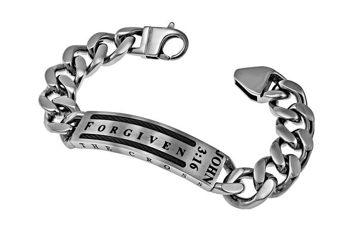 Forgiven Cable Bracelet - ST-CAB-B-FRGVN