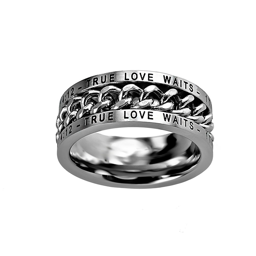 True Love Waits Chain Ring - ST-CHAIN TLW