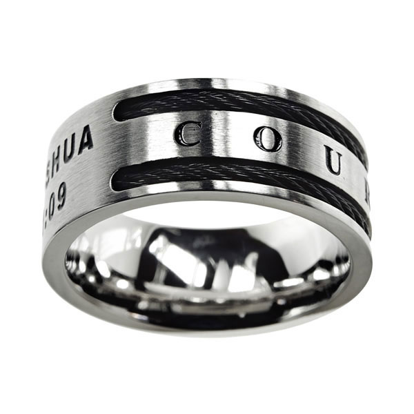 Courageous Cable Ring - ST-CAB-COUR