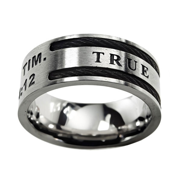 True Love Waits Cable Ring - ST-CAB-TLW