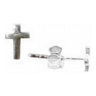 Cross Stud Earrings - SR-670690424006