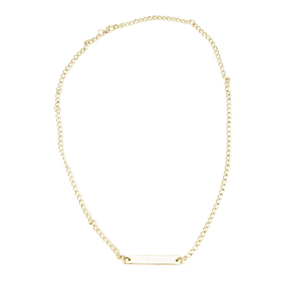 Gold #Faith Necklace - LDP-HBN1034