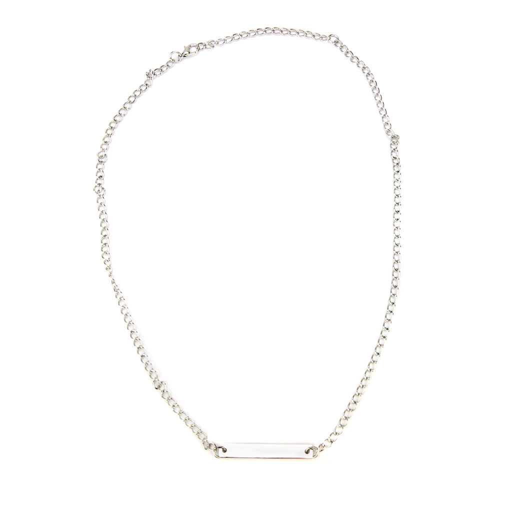 Silver #Purity Necklace - LDP-HBN0533