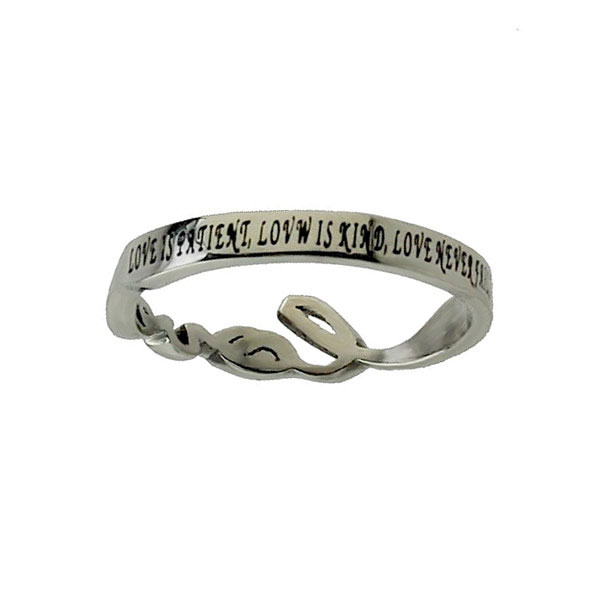 Love Cursive Ring - ST-HW-LOVE