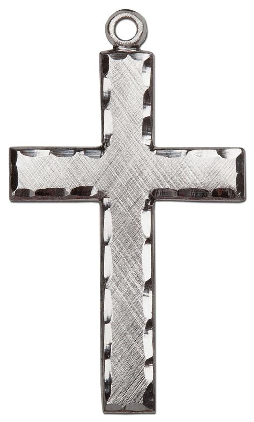 engraved cross necklace hjs mc3048 men 39 s necklaces on. Black Bedroom Furniture Sets. Home Design Ideas