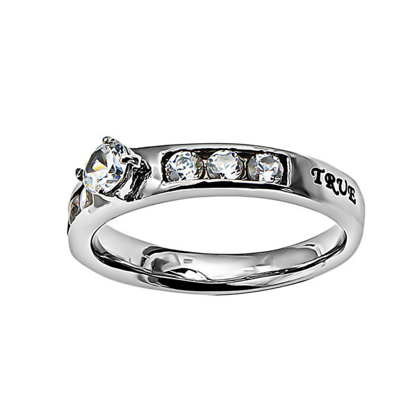 d438bdc17a73 True Love Waits Princess Solitaire Ring - ST-PS TLW ...