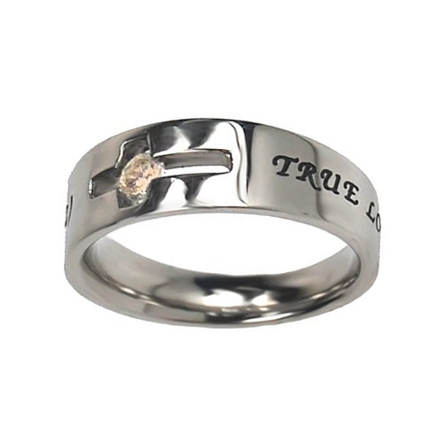 True Love Waits Birthstone Solitaire Ring - November
