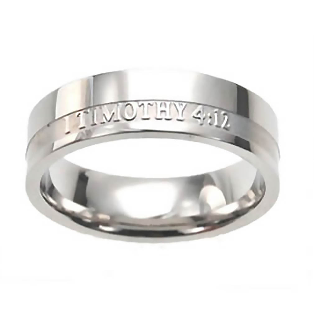 Women's True Love Waits Ring Band - ST-1T412 GIRLS
