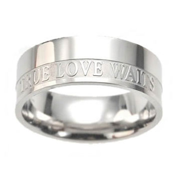 Men's True Love Waits Ring Band - ST-1T412