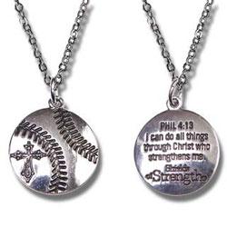 Womens Softball Pendant