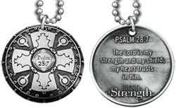 Battle Shield Psalm 28:7