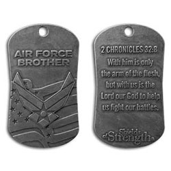 Air Force Brother Dog Tag