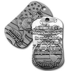 Marine Brother Dog Tag