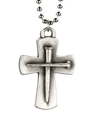 Full Strength Ephesians 6:10 Cross Necklace