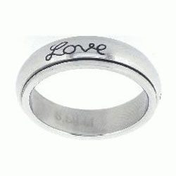 Faith Hope Love Spinner Ring