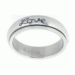 Faith Hope Love Spinner Ring