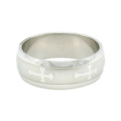 Orthodox Cross Ring