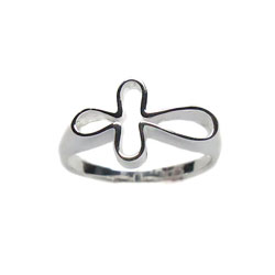 Horizontal Open Cross Ring