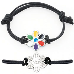 Salvation Flower Bracelet