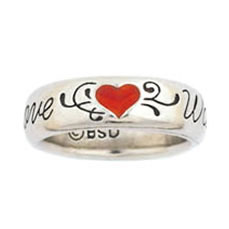 Heart Love Waits Ring