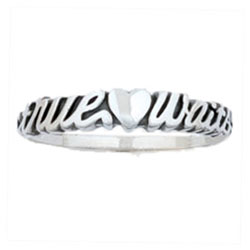 Sculptured True Love Waits Ring - BSD-511-824-5680