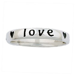 True Love Waits Hearts Ring