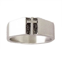 Traditional Deacon Cross Ring