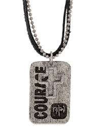 Courage Tagged Necklace