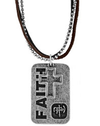 Faith Tagged Necklace