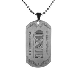 In God We Trust Dog Tag